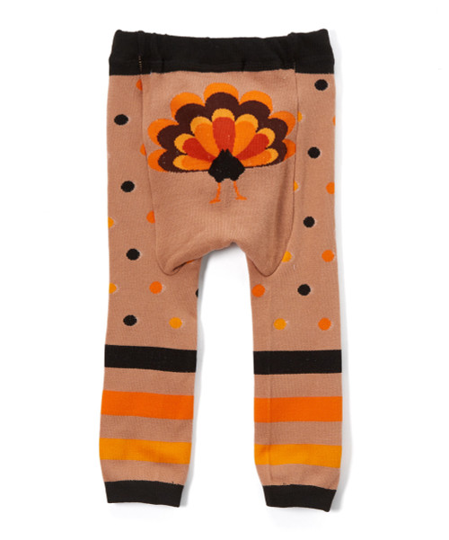 37be44b8ec404a ... Doodle Pants Turkey Leggings. Image 1