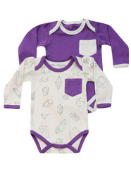 Cat & Dogma Geometric Crystals + Purple Bodysuit 2 Pack