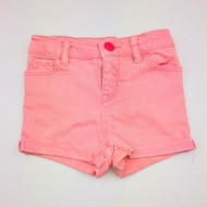 Baby Gap Highlighter Peach Denim Shorts