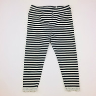 Baby Gap Black & White Knit Leggings