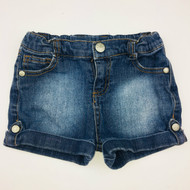 Truly Scrumptious by Heidi Klum Cuffed Denim Shorts