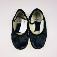 Revolution Dance Wear Black Leather Ballet Slippers