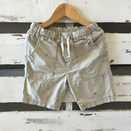 Crewcuts Nautical Print Khaki Shorts