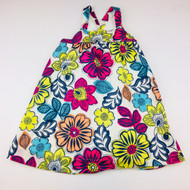 Baby Gap Bright Hawaiian Floral Summer Dress