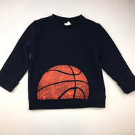 Gymboree Navy Blue Basketball Sweatshirt