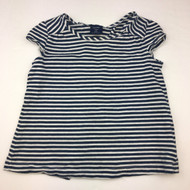 Baby Gap Blue & White Stripe Top