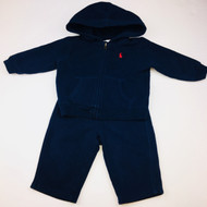 Ralph Lauren Navy Blue Jogging Suit