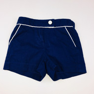 Janie & Jack  Navy with White Cord Shorts