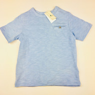 New! Baby Gap Light Blue Pocket Tee Shirt