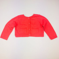 Baby Gap Coral Knit Cardigan