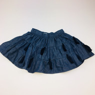 Mudpie Dark Denim Skirt