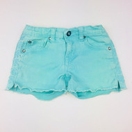 Vigoss Teal Cutoff Denim Shorts