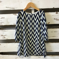 New!  Zunie Chevron Dress