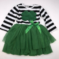 St. Patrick's Day Green Tulle Skirt Dress