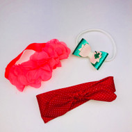 Baby Headband Variety 3 Piece Set