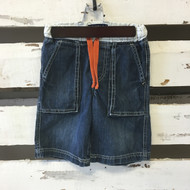 Mini Boden Denim Draw String Shorts