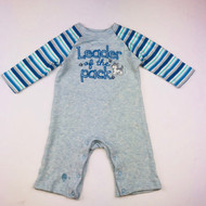 Gymboree Leader of the Pack Blue Striped One PIece