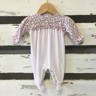 Kissy Kissy Footed Romper