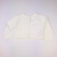 Baby Gap White Cardigan