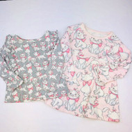 Baby Gap Disney  Animated KittyTwo  Top Set