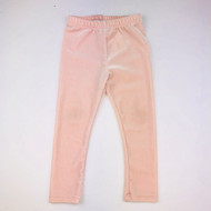 Janie & Jack Light Pink Velour Pants