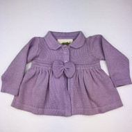 Monica & Andy Lavender Collar Cardigan