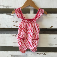 Gymboree Red Flower Print Jumper