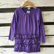 Gap Kids Sequin Ruffle Dress