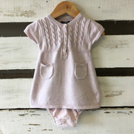 Baby Gap Cable Knit Dress & Diaper Cover