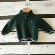 Janie & Jack Half Zip Sweater