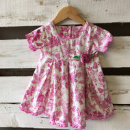 Baby  Lulu Pink Floral Dress