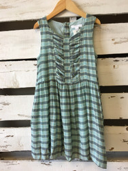 Burberry Silk Ruched Dress