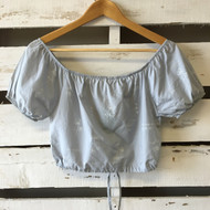 New! 3 Pommes Stylish Crop Top