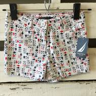 New!  Nautica Embroidered Fish Shorts