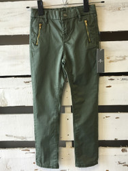 New!  7 For All Mankind Army Green Skinny Jeans