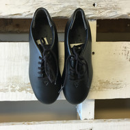 Capezio Black Tic Tap Toe Shoes