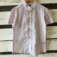 Little Marc Jacobs Pink Ruffle Blouse