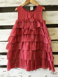 Little Marc Jacobs Tiered Organza Party Dress