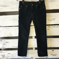 7 For All Mankind Black Corduroy Jeans