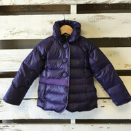 Little Marc Jacobs Purple Puffer Coat