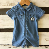 Little Marc Jacobs Chambray Shortalls