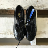 Sansha Tee-Kids Black Tap Shoes