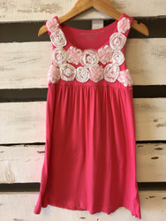 Design History Rosette Flower Dress