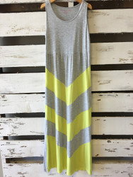 Design History Chevron Maxi Dress