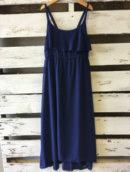 Design History Navy Chiffon Dress
