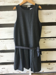 Jacadi Grey Pinstripe Dress