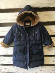 il gufo Navy Down Puffer Coat