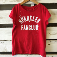 "Gap Kids ""Sparkler"" Red Tee Shirt"