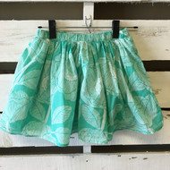 Gap Kids Hawaiian Green Skirt