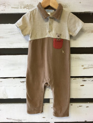 Janie & Jack Two Tone Tan Layette